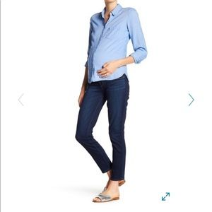 Paige Verdugo Ankle Skinny Maternity Jeans